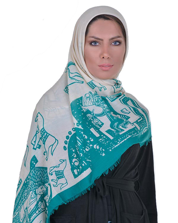 روسری نخی مدل 1